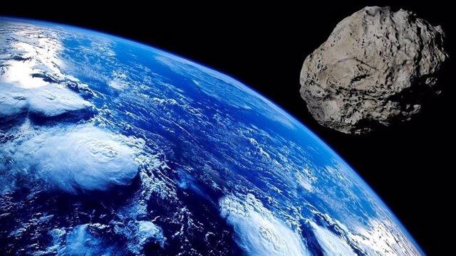 colisión de meteoritos