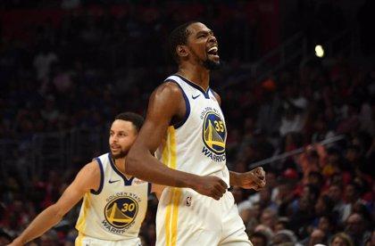 Los Warriors no descartan a Durant para el decisivo partido en Toronto