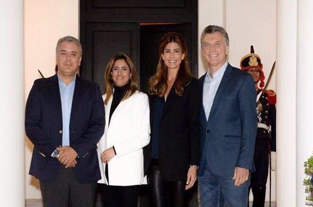 Duque llega a Argentina para reunirse con Macri con el objetivo de aumentar el comercio y la cooperación bilateral