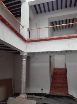 SaboresAlmería.- Diputación y Ayuntamiento ultiman las obras de la Casa Palaciega de Laujar de Andarax