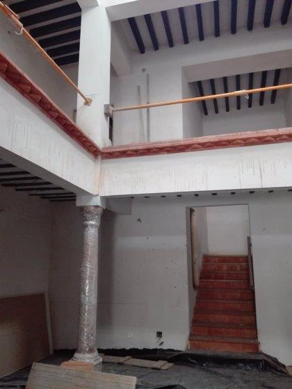 Diputación de Almería y Ayuntamiento ultiman las obras de la Casa Palaciega de Laujar de Andarax
