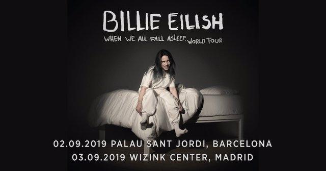 Ampliació d'aforament dels concerts de Billie Eilish a Barcelona i Madrid