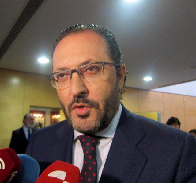 El decano de los abogados de Valladolid, Javier Garicano.