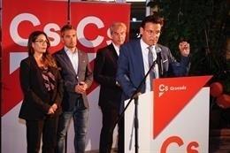 """Granada.- 26M.- Salvador (Cs) enmarca el posible acuerdo en Granada en un """"pacto global"""" que atenderá las singularidades"""