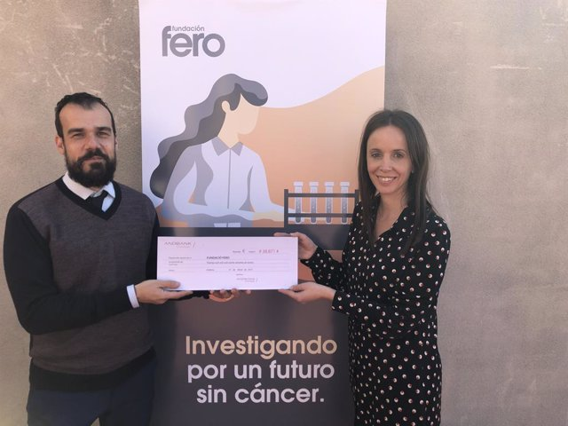Andbank dóna més de 38.800 euros a la fundació Fero d'investigació oncològica
