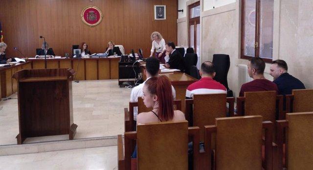 Cinco acusados de narcotráfico en Mallorca aceptan una pena conjunta de  31 años de cárcel