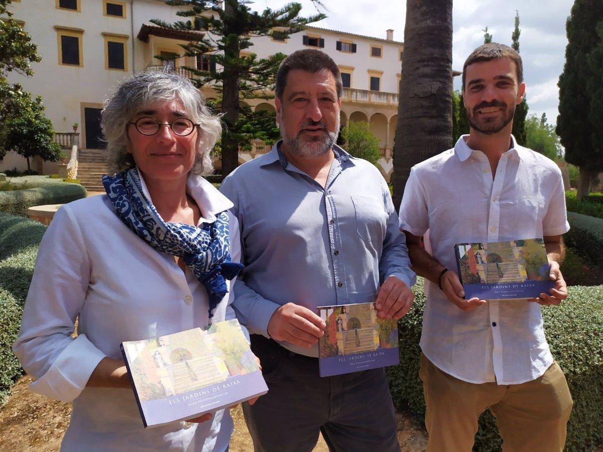 Editan la primera guía histórico-artística sobre los jardines de Raixa
