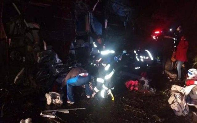 Al menos 17 personas mueren en un accidente de autobús en Brasil