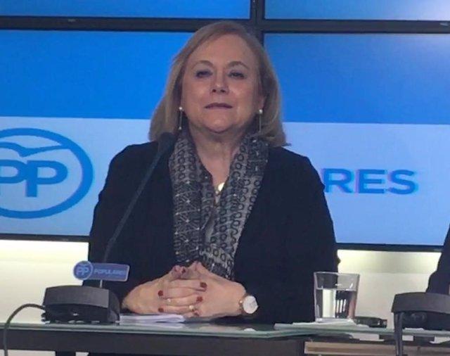 """Mercedes Fernández (PP) considera """"bona idea"""" la propuesta de pactu de Rivera a Casado anque """"llega tarde"""""""