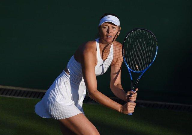 Tennis.- Sharapova s'entrena en Mallorca ultimant el seu retorn al circuit