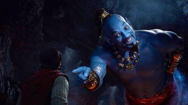 La adaptación de Aladdin corona la taquilla española el fin de semana