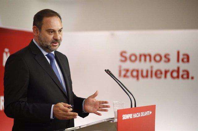 Reunión de la Ejecutiva Federal del PSOE en su sede en Madrid