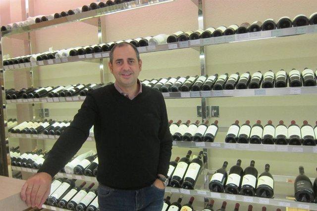 El propietario de El Petit Celler, Sebastián Lozano