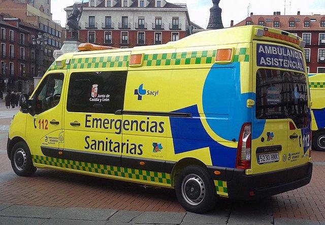 (AMP)Sucesos.- Un muerto y cuatro heridos tras colisionar dos turismos en Villabalter (León)