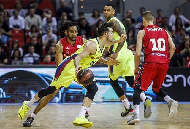 Baloncesto/Playoff.- Previa del Tecnyconta Zaragoza - Barça Lassa