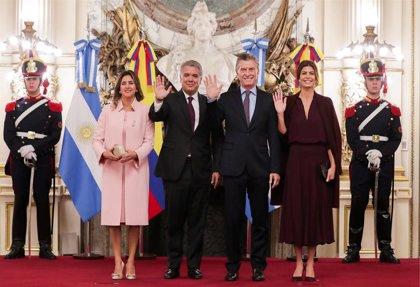 """Duque y Macri se comprometen a """"acelerar"""" la convergencia de la Alianza del Pacífico y MERCOSUR"""