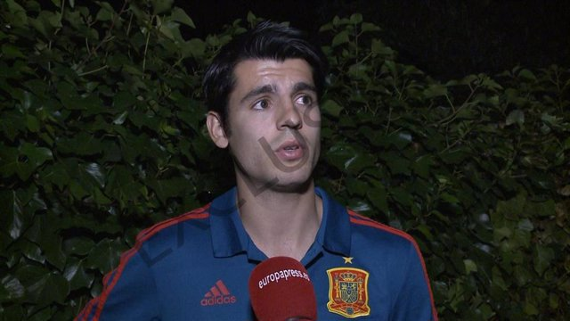 Exclusiva: Álvaro Morata explica cómo han vivido el robo en su casa