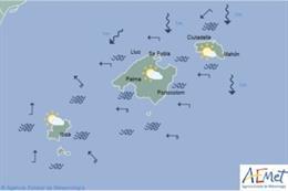 Predicción meteorológica para este martes 11 de junio en Baleares: