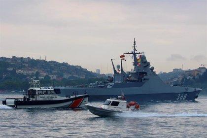 Tres muertos por una explosión en un buque ruso en un puerto del mar Caspio