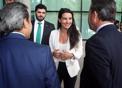 """Monasterio cree que Sánchez está """"jugando bien sus cartas"""" y que PP y Cs deberían abstenerse en la investidura"""