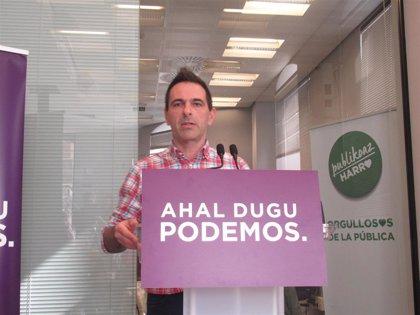 Bildu y Podemos pactarán en Elorrio y Durango (donde ganó el PNV) la Alcaldía y reeditarán el acuerdo en Errenteria