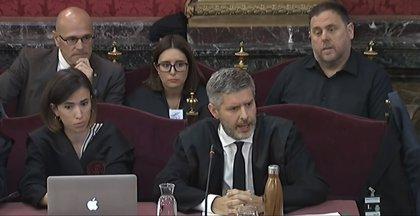 """El abogado de Junqueras y Romeva denuncia que se quiere aplicar el """"Código Penal a la disidencia política"""""""