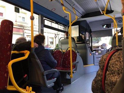 Los usuarios del autobús urbano suben en abril en Asturias un 1,3%, el segundo mayor aumento nacional