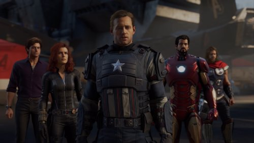 Videojuego Marvels Avengers