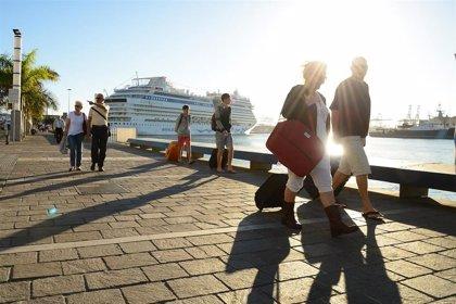 Las Palmas encabeza la llegada de cruceristas con 836.941 pasajeros en el primer cuatrimestre, un 16,21% más