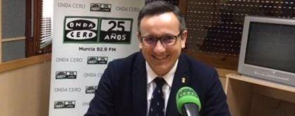 """Diego Conesa sostiene que """"Ciudadanos tiene tiempo de rectificar"""" antes de dar la presidencia de Murcia al PP"""