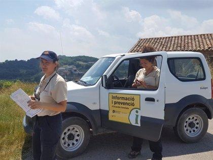 El dispositivo contra incendios forestales en municipios de Barcelona se activa este viernes