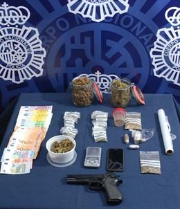 Málaga.- Sucesos.- Detenido un joven por cultivar marihuana en su casa para después venderla al menudeo