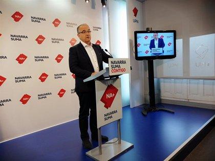 Navarra Suma pide al PSN que no opte a la Alcaldía de Pamplona para que la elección no quede en manos de EH Bildu