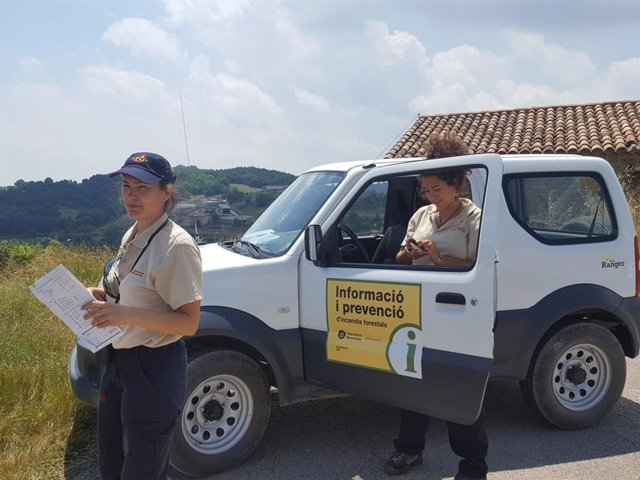 El dispositiu contra incendis forestals en municipis de Barcelona s'activa aquest divendres