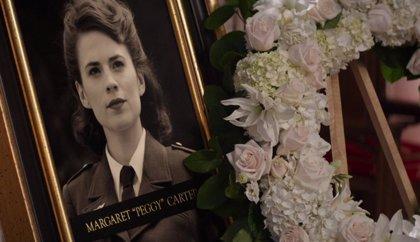 Fans de Marvel descubren a ESE PERSONAJE en el funeral de Peggy Carter