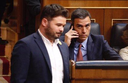 """ERC ve una """"anomalía"""" que el PSOE no les llame para negociar la investidura de Sánchez"""