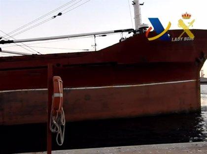 La Autoridad Portuaria de Almería adjudica en subasta el narco-buque 'Lady Boss' por 201.000 euros