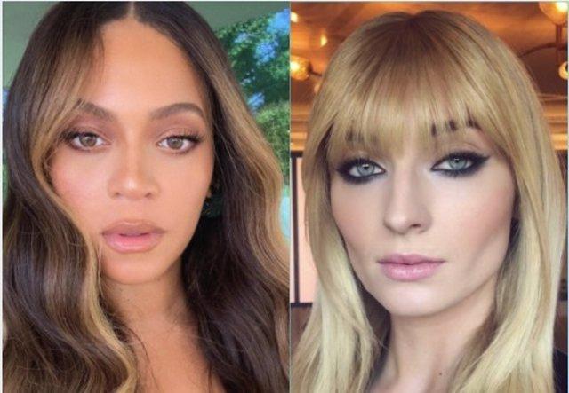 Beyoncé y Sophie Turner