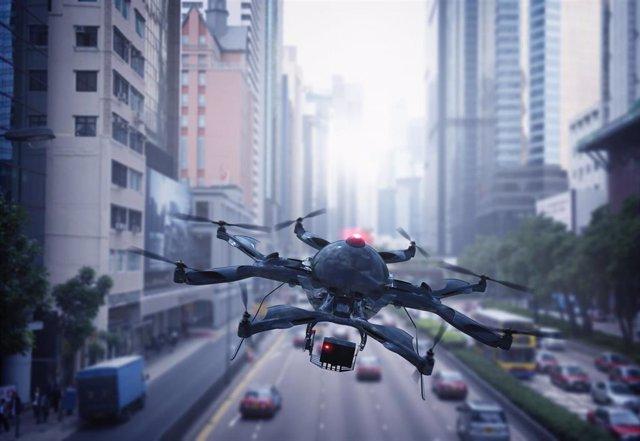 Empresas.-Los hospitales públicos de París y Nantes utilizarán drones para el envío de medicamentos