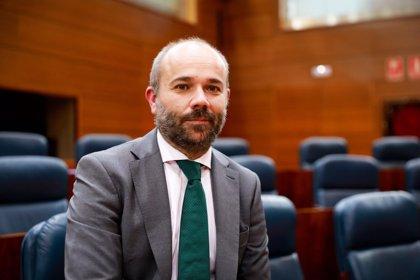 PP, Ciudadanos y Vox juntan sus votos para hacer presidente de la Asamblea de Madrid a Juan Trinidad (Cs)