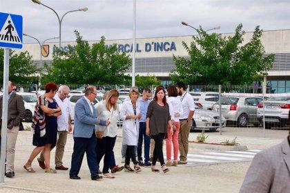 Armengol inaugura el nou aparcament de l'Hospital d'Inca, que duplica la seva capacitat amb 654 places