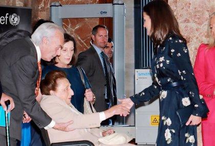 La Reina Letizia, de lo más cariñosa con la infanta Margarita