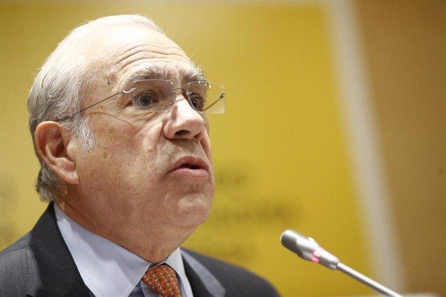 Rueda de prensa de Ángel Gurría y Nadia Calviño para presentar el nuevo estudio económico de la OCDE sobre España