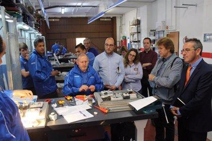 Del Valle destaca que participar en un curso de FP para el Empleo aumenta en un 20% la inserción laboral