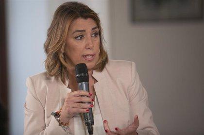 """Susana Díaz critica la propuesta """"trampa"""" de Imbroda sobre Selectividad, que busca """"resucitar la reválida de Wert"""""""
