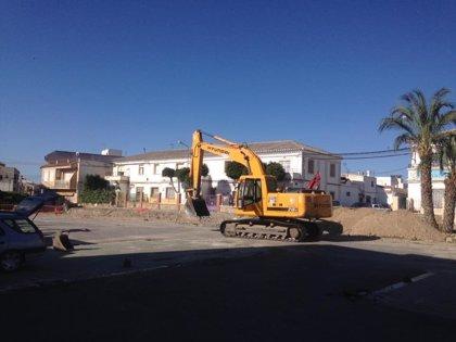 Arrancan las obras de modernización de la Avenida de la Estación de Huércal-Overa