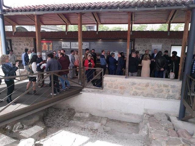 Inauguran las tenerías de Ávila tras recuperar la zona de curtido de pieles de los siglos XIV y XVII a orillas del Adaja