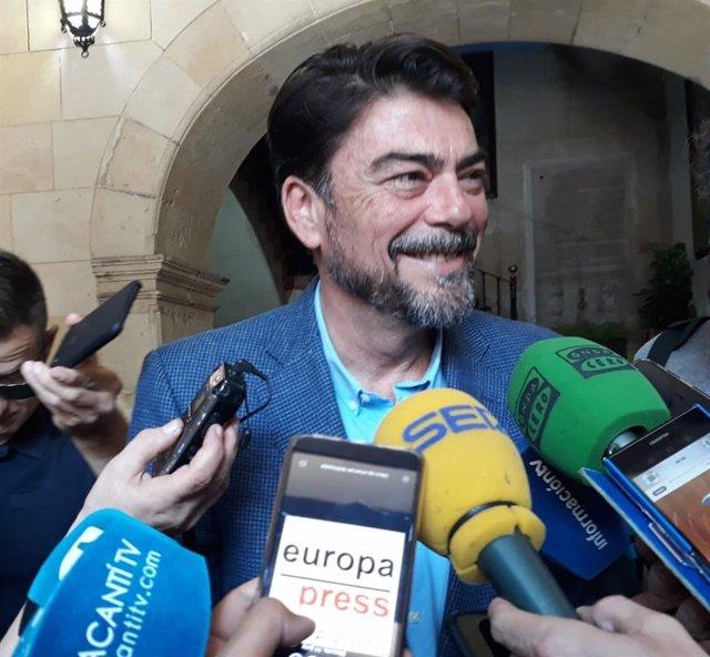 Alicante.- Ciudadanos y PP retoman esta tarde la negociación para la Alcaldía