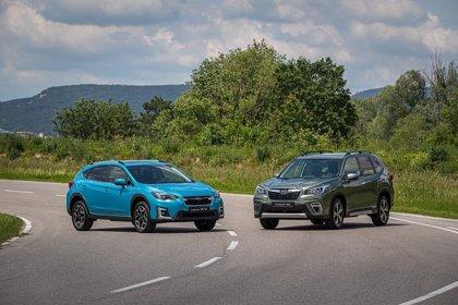 Subaru abre los pedidos en España de las variantes híbridas del Forester y XV