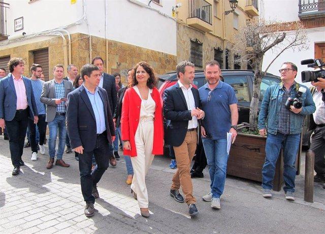 """Jaén.- Montero espera saneamiento de cuentas con el nuevo Ayuntamiento y dice que quita """"no es buena compañera"""" de deuda"""